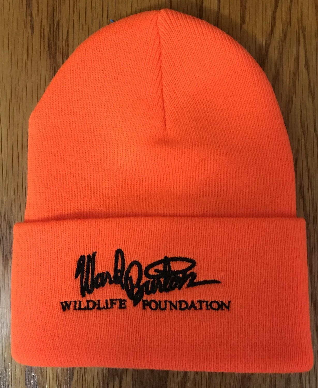 Orange stocking cap