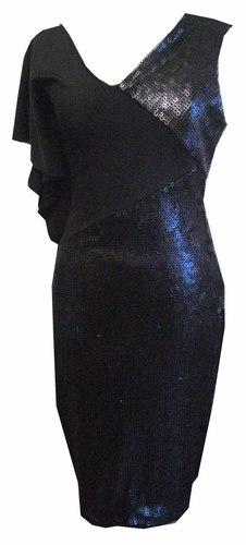 Black Sequin Dress seq drs 01