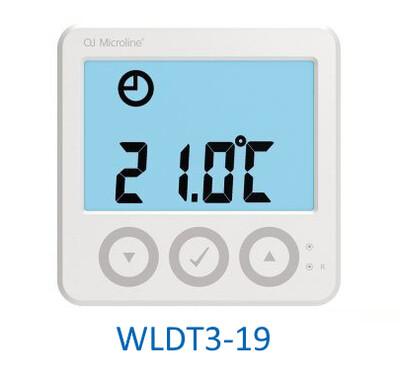 OJ Electronics WLDT3-19 Waterline / Microline Digital Display Room Thermostat Underfloor Heating 5v Rehau