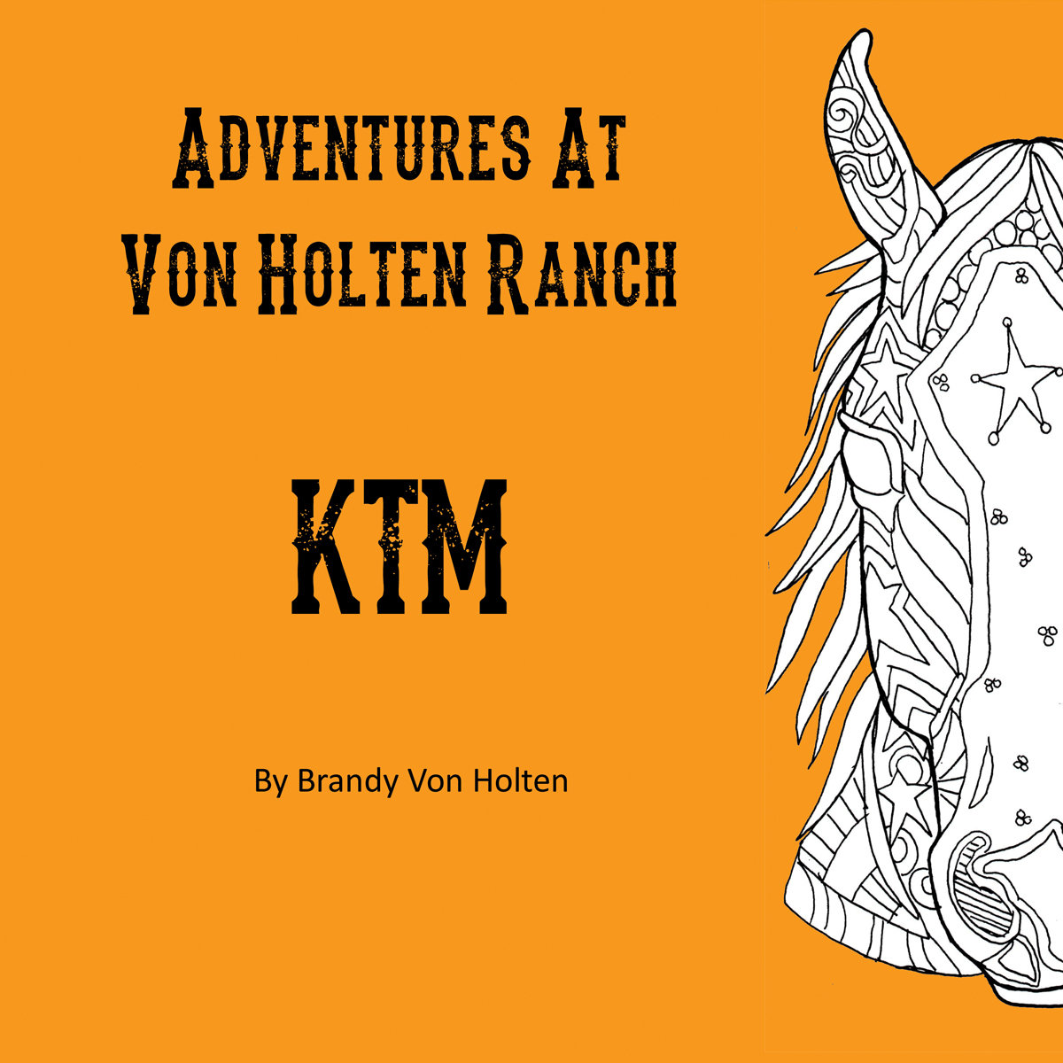 Adventures At Von Holten Ranch - Children's Book Book-1