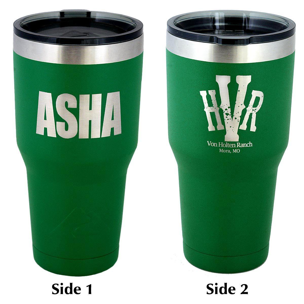 ASHA 30 oz. Insulated Tumbler
