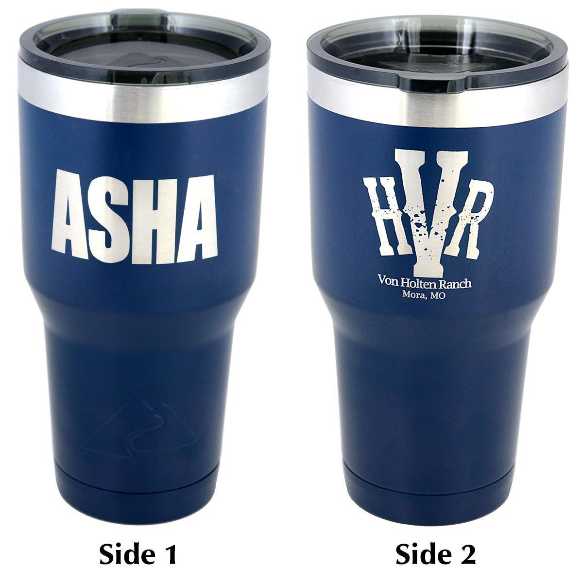 ASHA 30 oz. Insulated Tumbler 30oz-ASHA-tumbler