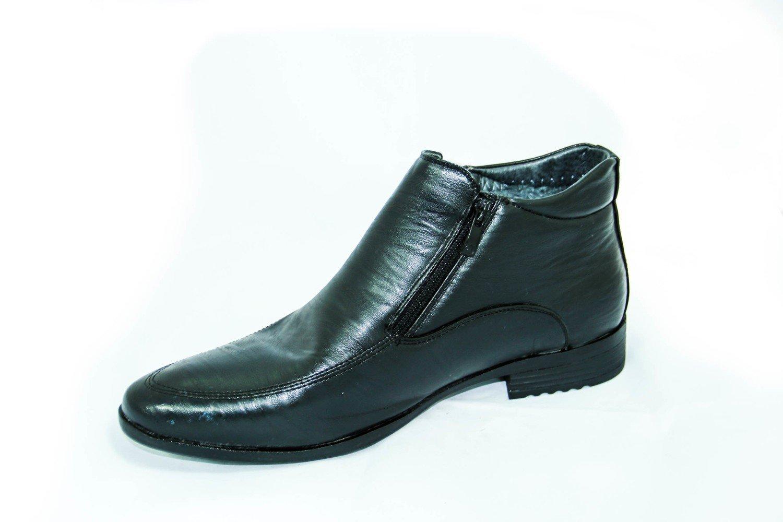классические зимние мужские ботинки