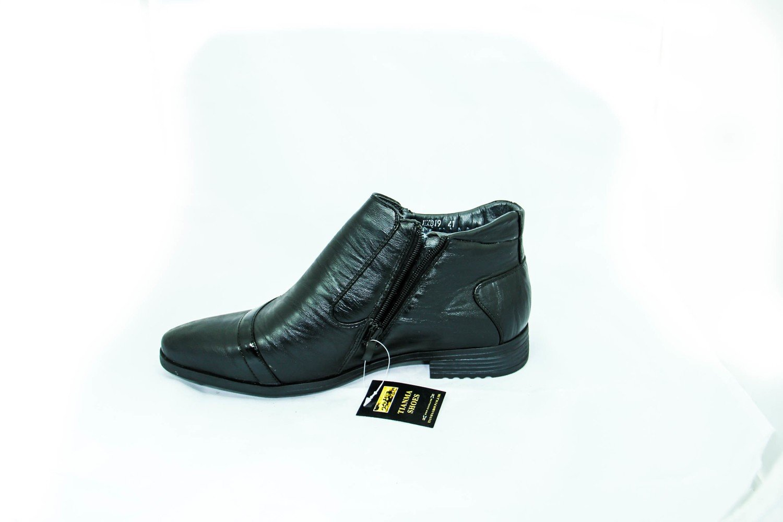 классические зимние мужские ботинки с мехом