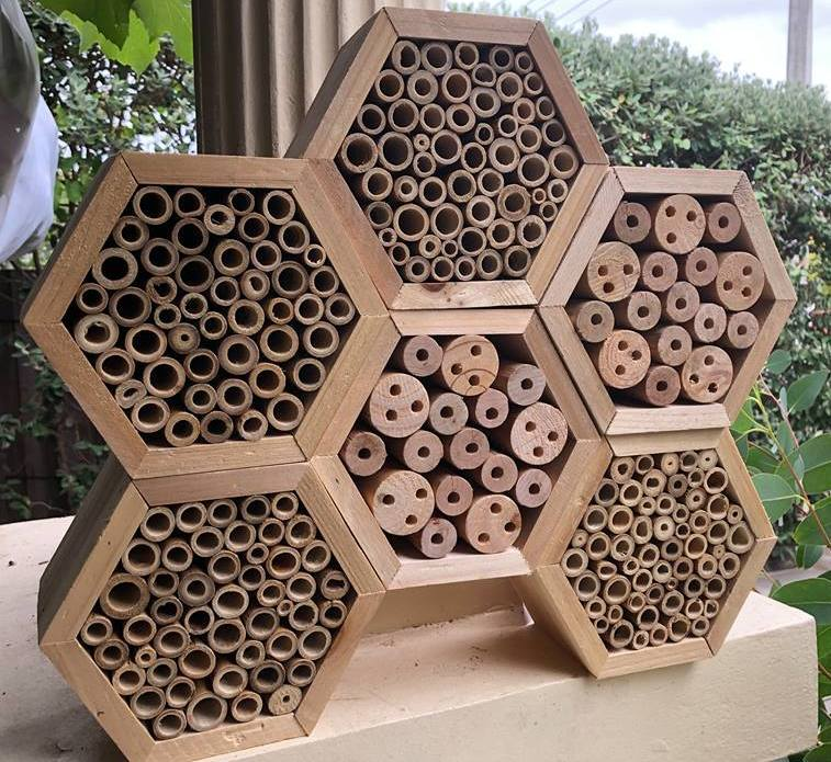 Insect Hotel - Bamboo or Wood