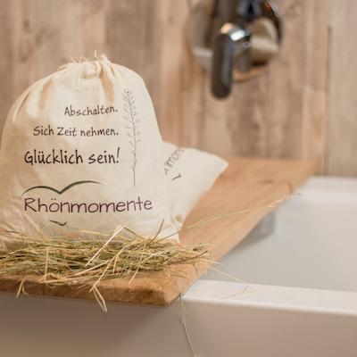 Bio-Kräuterheu-Badebeutel