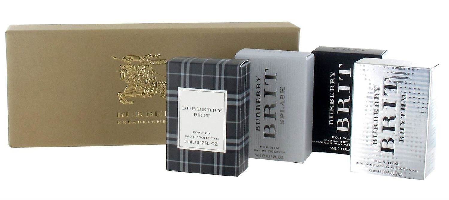 Burberry miniuture gift set