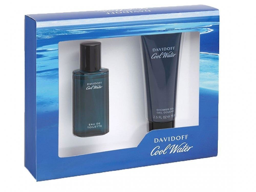 Davidoff Cool Water Gift Set 40ml EDT + 75ml Shower Gel 00029