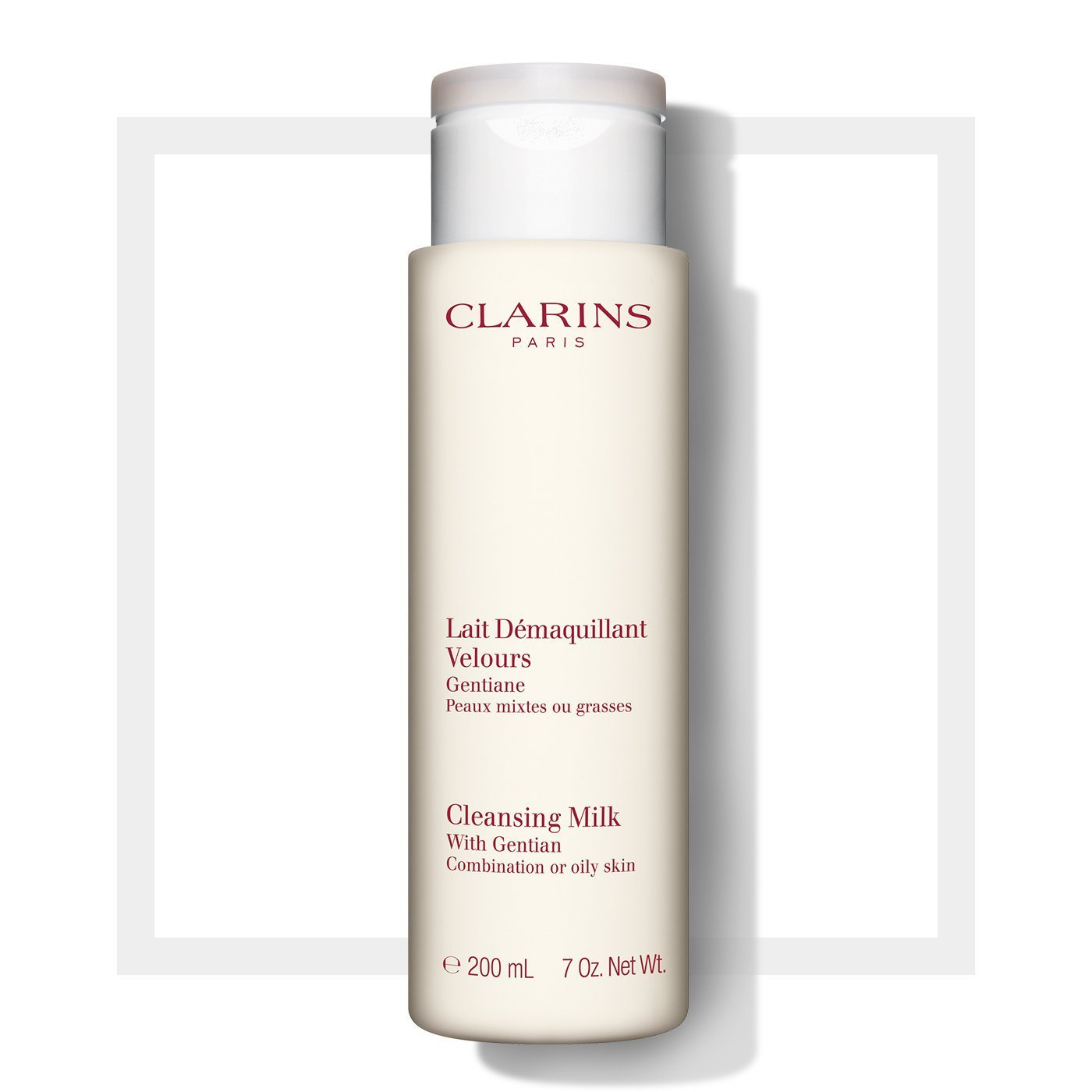 Clarins Cleansers and Toners Cleansing Milk with Gentian - Combination/Oily Skin 400ml 00038
