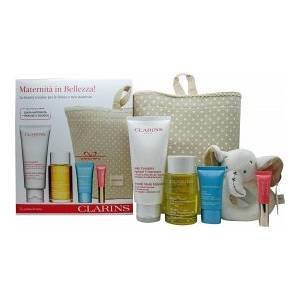 Clarins Maternity Body Care Gift Set. 00055