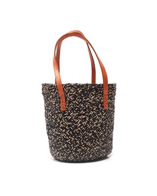 Bucket Straw Bag