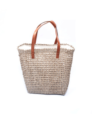 Summer Jute Satchel