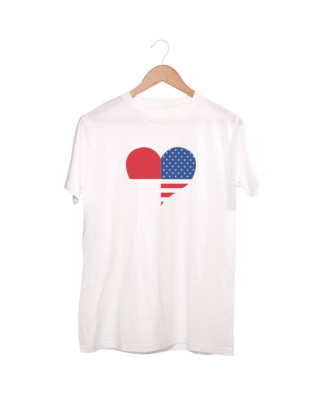 T-shirts Circle IndoUsa