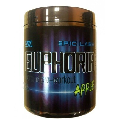 Энергетик (пред-треник) Euphoria Epic Labs 100-200гр.