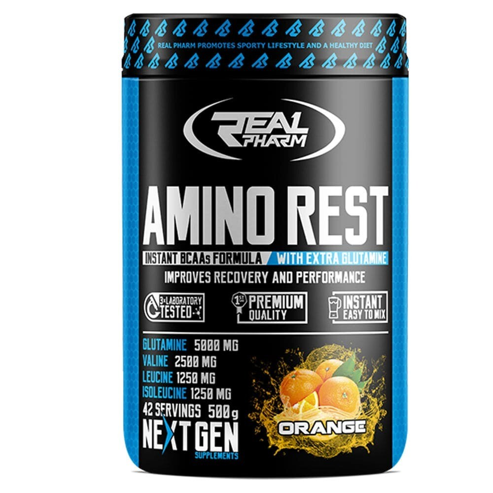 BCAA Real Pharm Amino Rest 500-1000 гр.