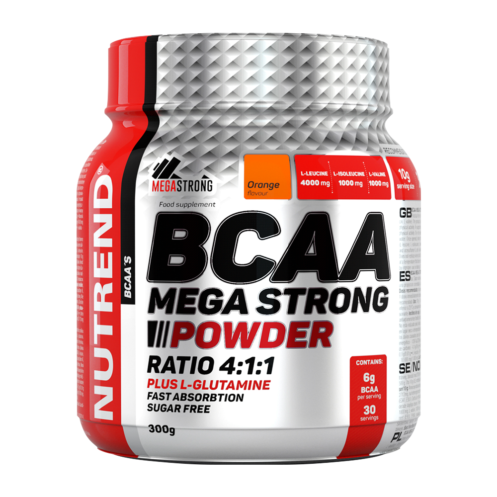 BCAA (БЦА) Nutrend Mega Strong Powder