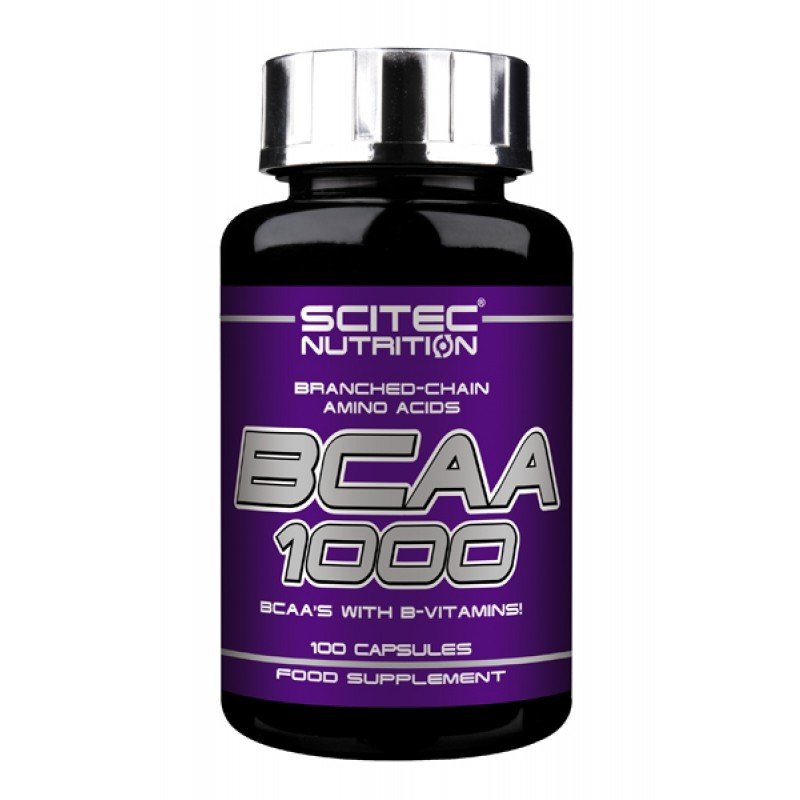 Scitec Nutrition BCAA (БЦА) 1000 (100 капсул)