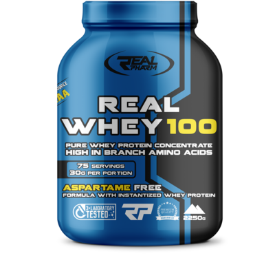 Протеин концентрат от Real Pharm Real Whey 700-2250гр