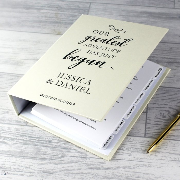 Personalised wedding planners