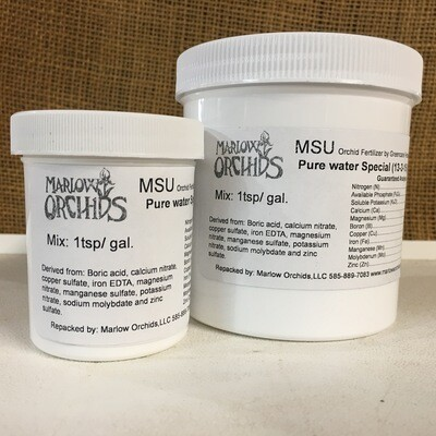 MSU - Pure water Special (13-3-15) Orchid Fertilizer