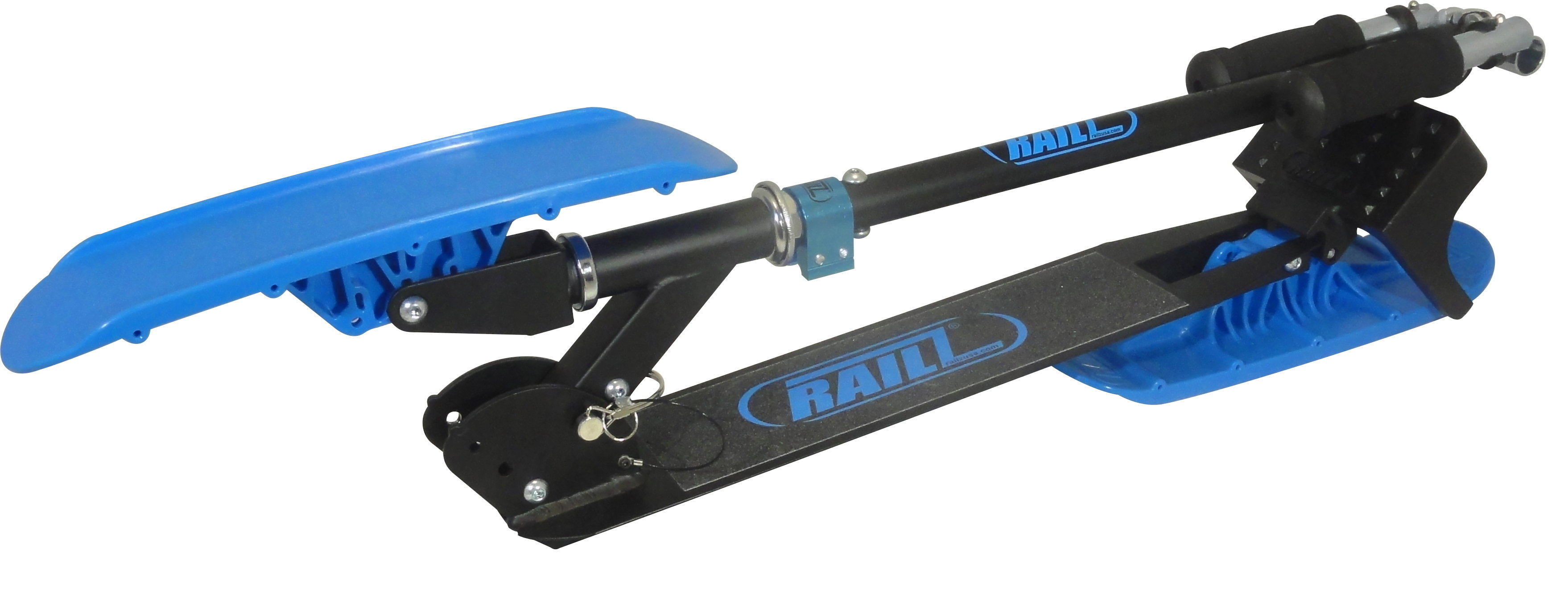 RAILZ Next-Gen SnowScooter - Blue