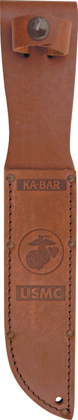 Ka Bar, 1218,  USMC-brown-serrated
