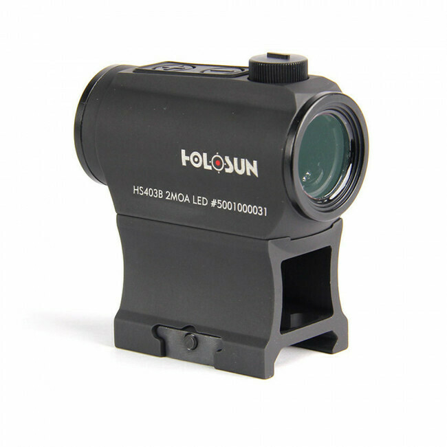 Holosun, HS403B, Classic Micro Reflex Sight- Dot/Shake Awake