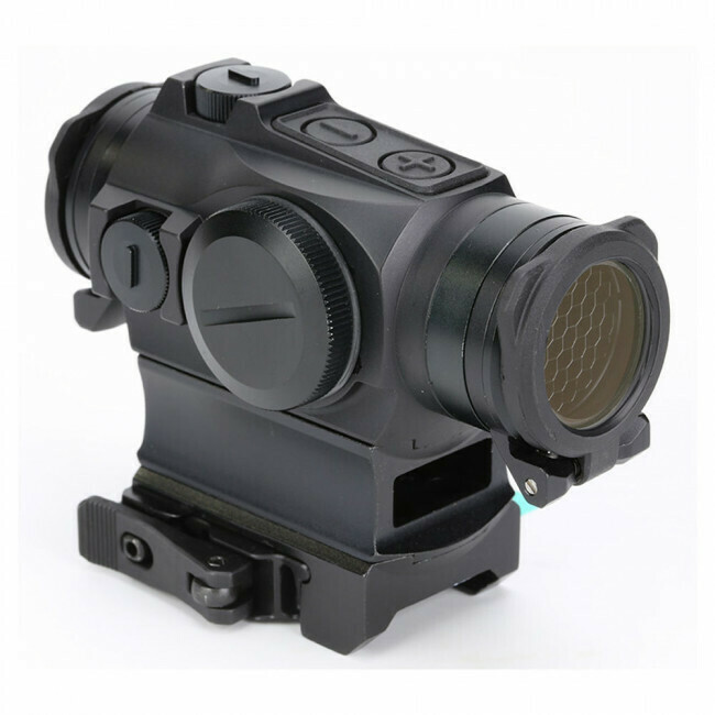 Holosun, HS515GM, Classic Micro Reflex Sight- Circle Dot/Shake Awake/QD Mount