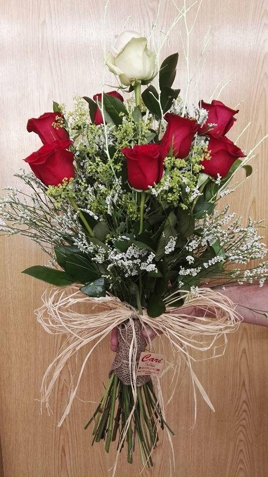 Ramo de 6 Rosas CARI001