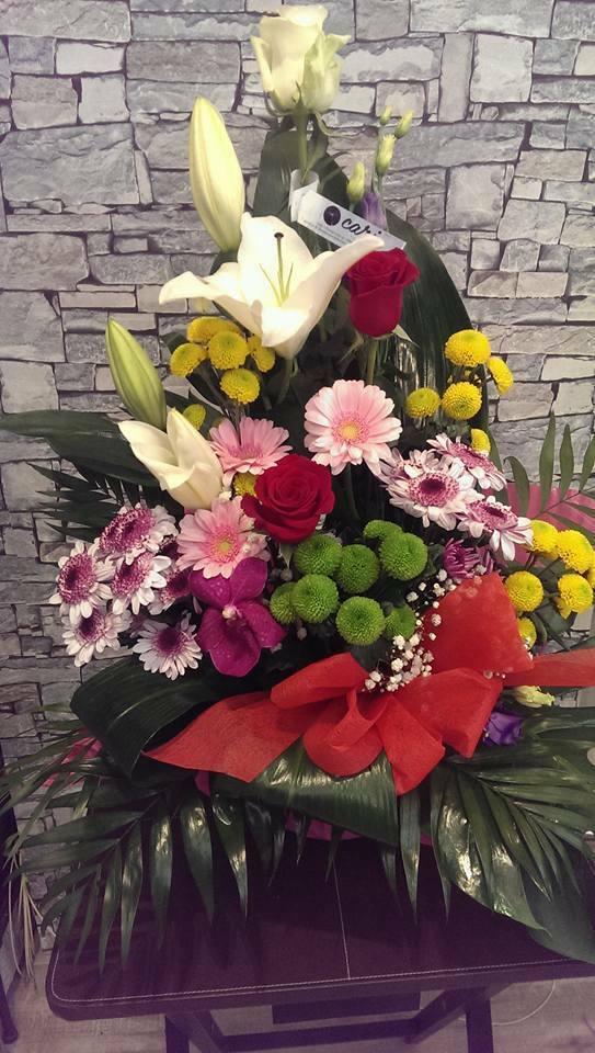 Centro de Flores variadas CARI005