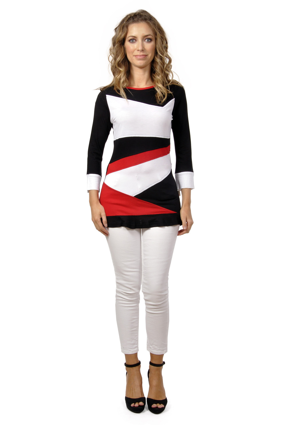 Savage Culture: Dress Me Up Color Block Tunic Suzette (1 Left!)