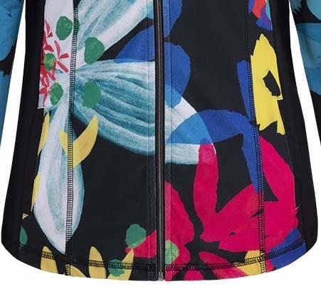 Simply Art Dolcezza: Intense Garden Of Zen Abstract Art Zip Jacket (2 Left!)