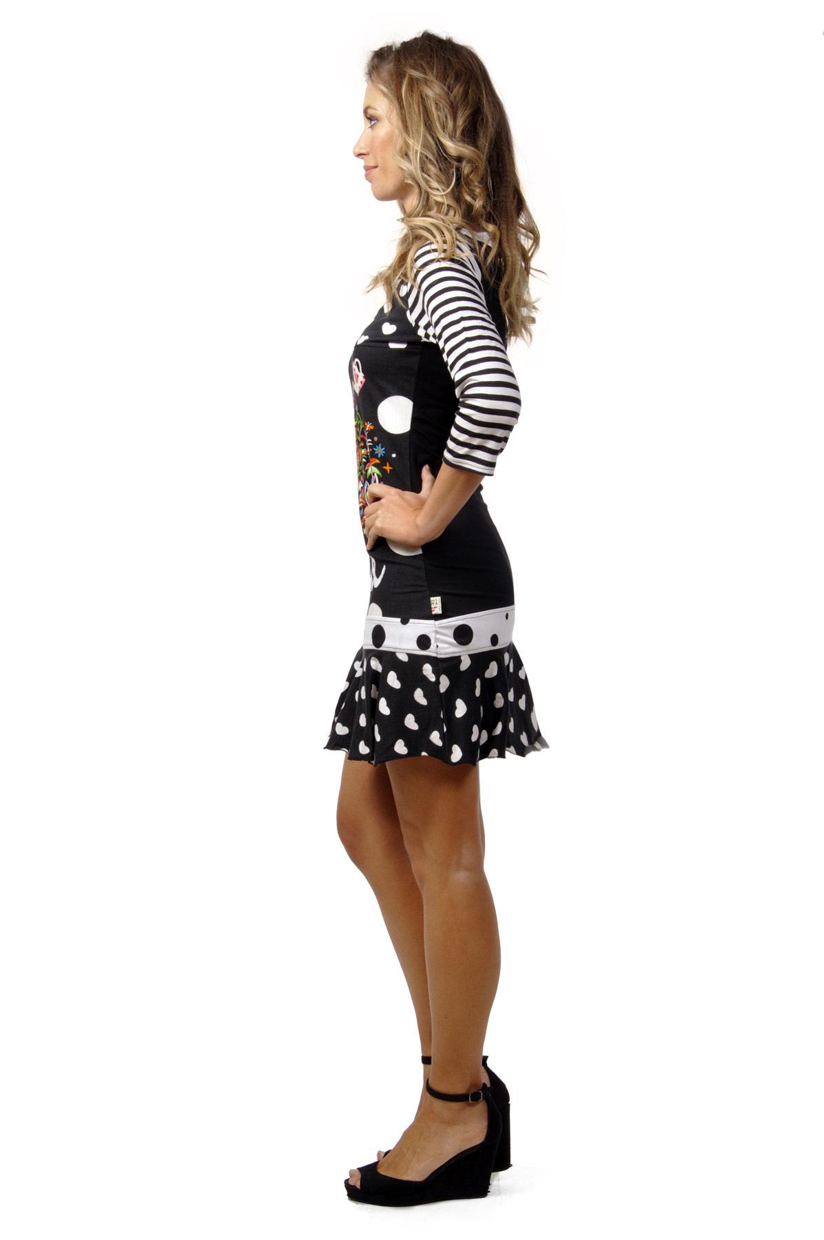 Savage Culture: Wonderland Rose Garden Embroidered Short Dress Carolina (1 Left!)