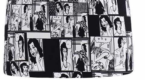 Dolcezza: Comic Strip Boudoir Art Tunic