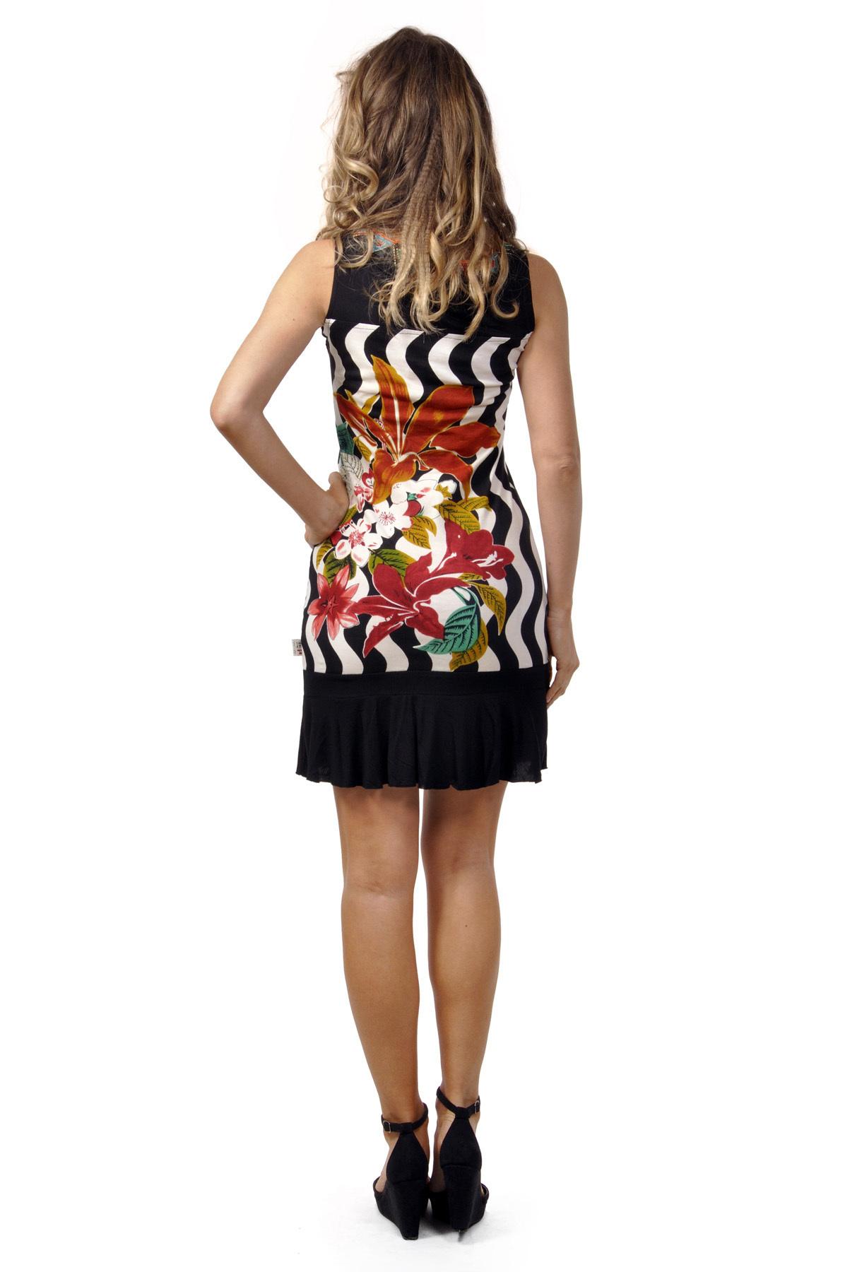 Savage Culture: Hawaiian Hibiscus Sleeveless Judith Dress (Almost Gone!)