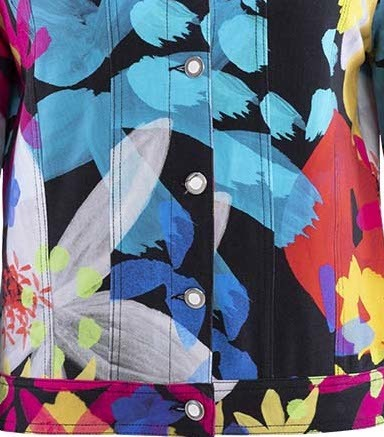 Simply Art Dolcezza: Intense Garden Of Zen Abstract Art Jacket