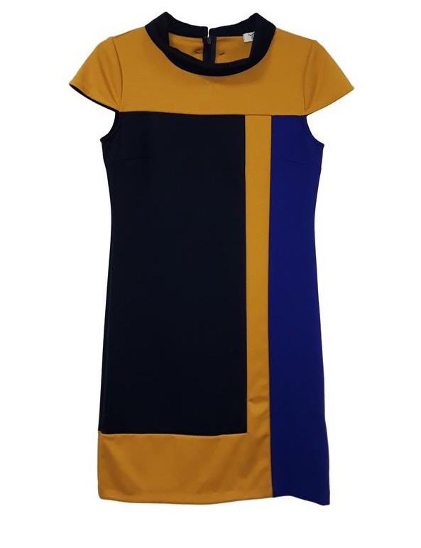 Paul Brial: Red Passion Colorblock Dress (More Colors!)