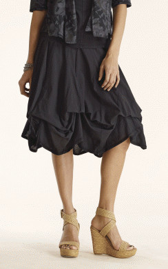 3712945af0f Luna Luz  Tied   Dyed Midi Cotton Skirt (Many Colors!)