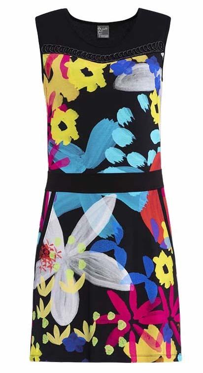 Simply Art Dolcezza: Intense Garden Of Zen Abstract Art Dress/Tunic DOLCEZZA_SIMPLY_ART_19684_N