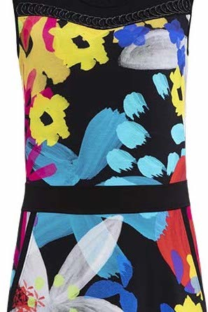 Simply Art Dolcezza: Intense Garden Of Zen Abstract Art Dress/Tunic