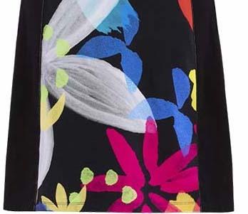 Simply Art Dolcezza: Intense Garden Of Zen Abstract Art Fit & Flare Dress/Tunic