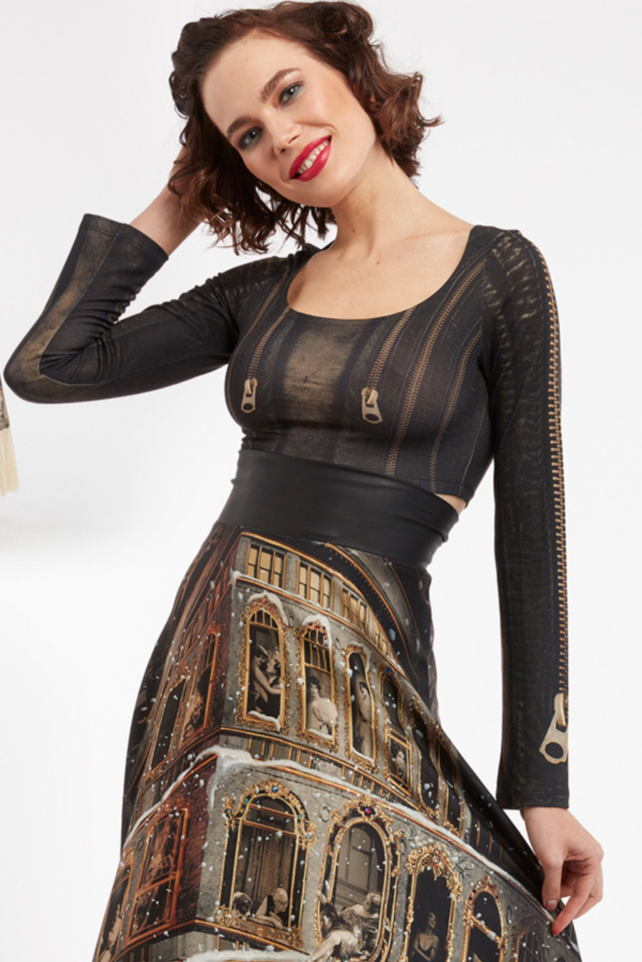 IPNG: Biker Chic Let It Snow 2-Piece Dress (Can be ordered separately, Some Ship Immed!)