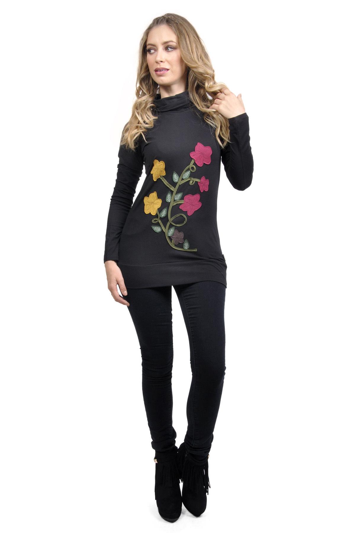 Savage Culture: Chic Rosette Martini Sweater Tunic Olivia (1 Left!)