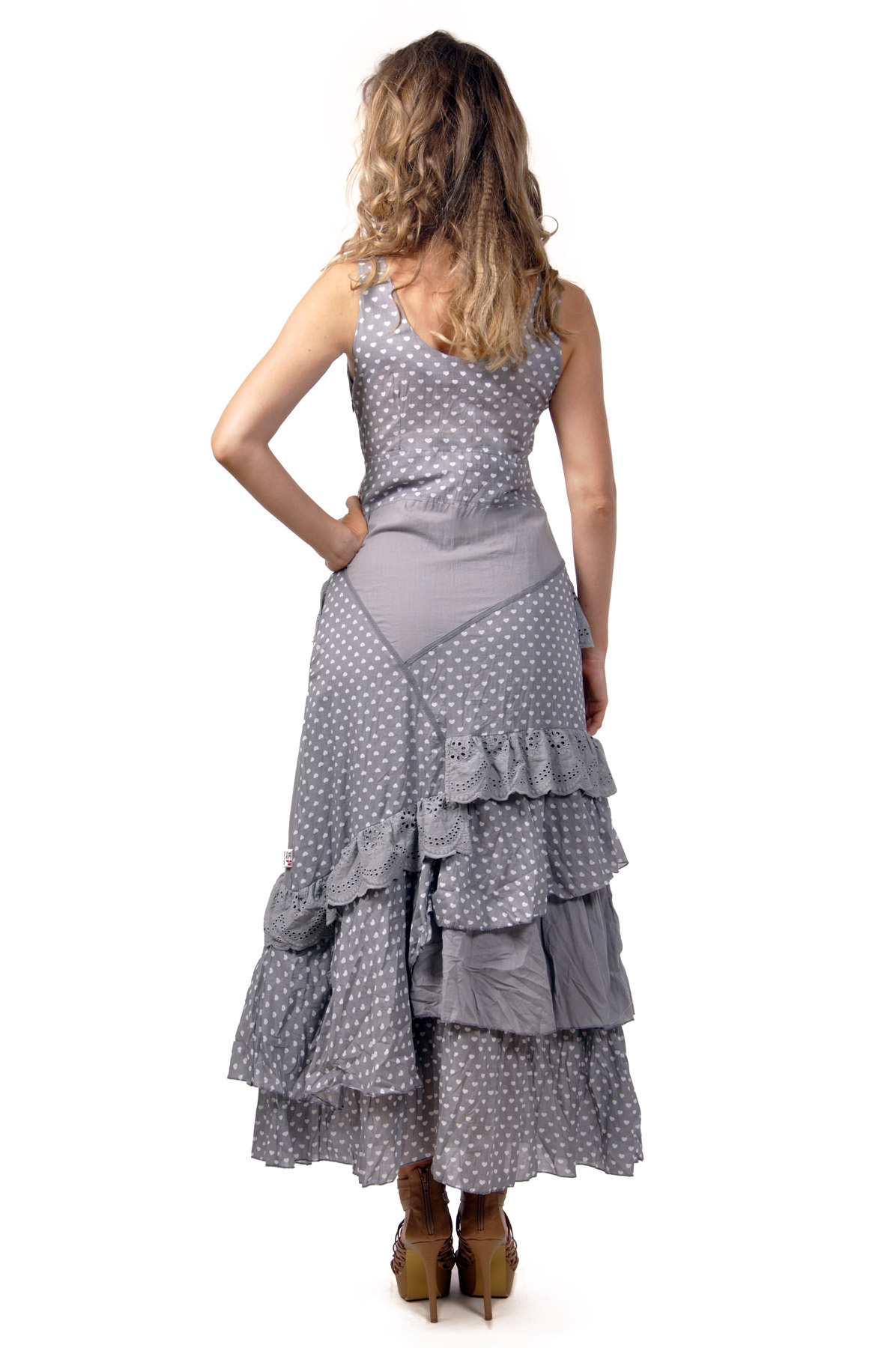 Savage Culture: Lovely Lola Embroidered and Ruffled Long Sundress