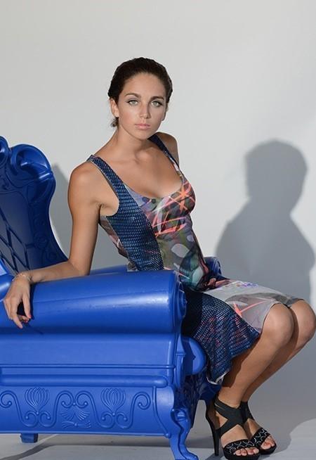 Eroke Italy: Midnight Color Storm Dress