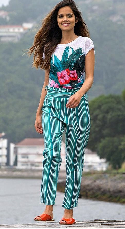 Paul Brial: Belted High Waisted Bamboo Pant (Few Left!)