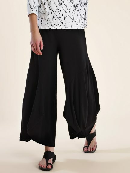 Luna Luz: Waterfall Cotton Pant (Ships Immed, 1 Left in White!)