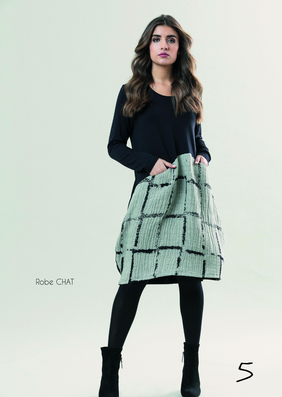 G!oze France: Bubble Chat Pocket Midi Dress (Few Left!)