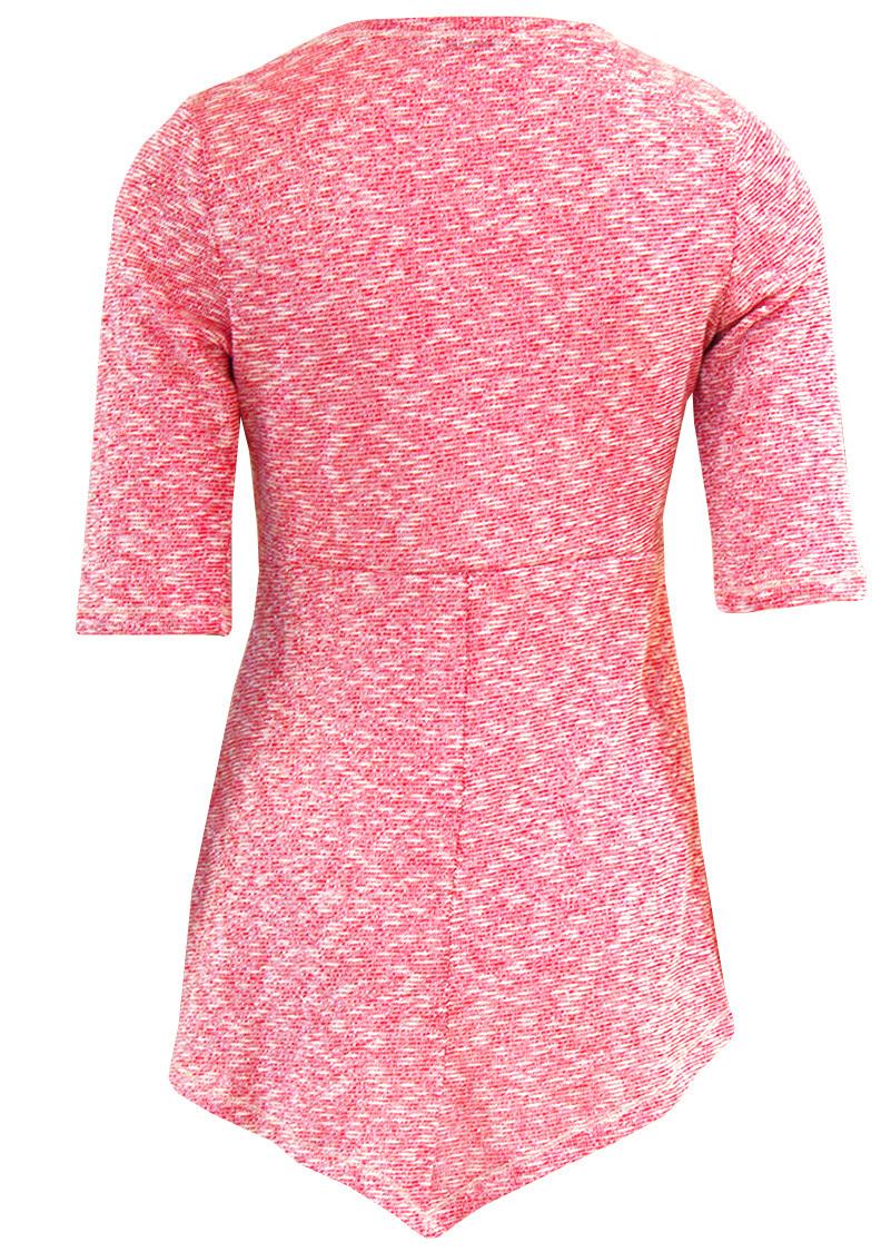 Double Jeu Paris: Platinum Sparks Cotton Knit Tunic