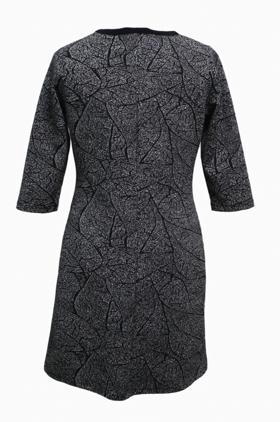 Maloka: Tulip Tears Jacquard Midi Dress